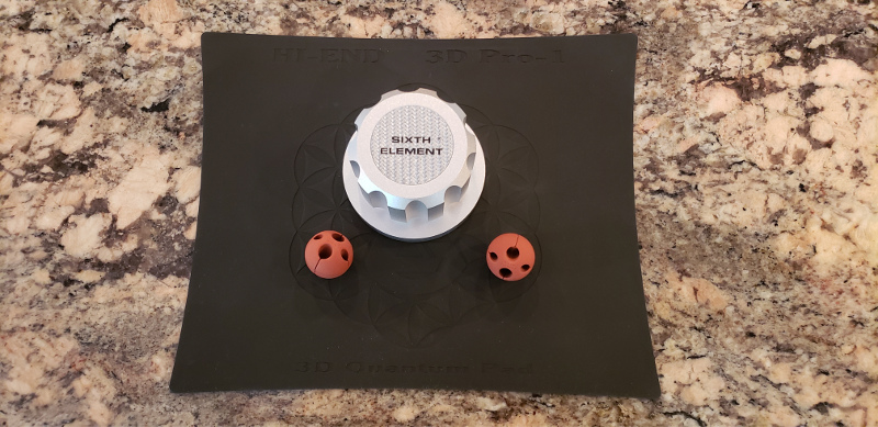 Sixth Element pad, balls, stickers
