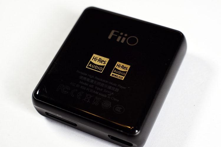 FIIO M5 сзади