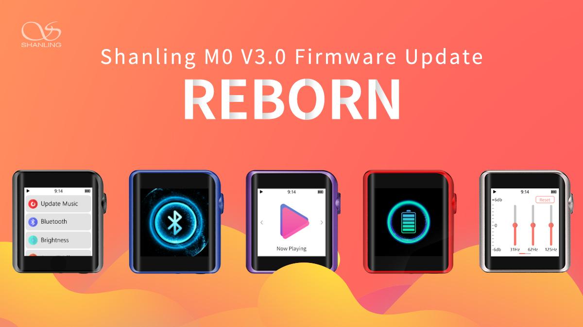 Shanling M0 Firmware V3.0