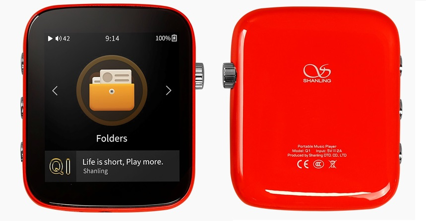 Shanling Q1 red